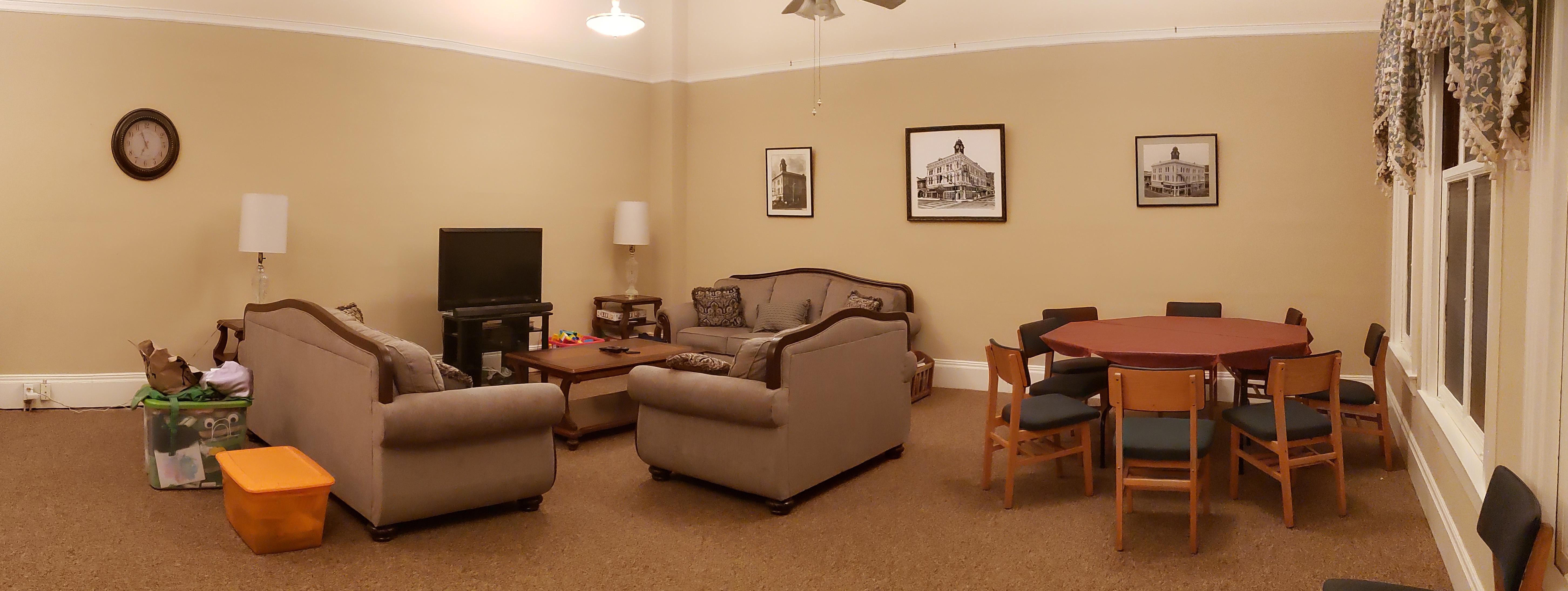 Family room 3rd floor